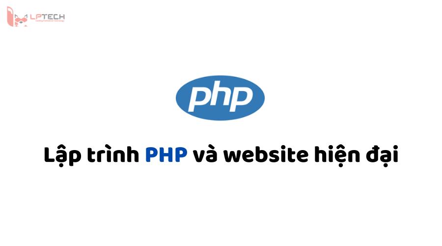 Lập trình PHP và website hiện đại