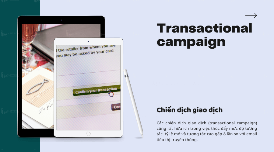 Chiến dịch giao dịch (Transactional campaign)