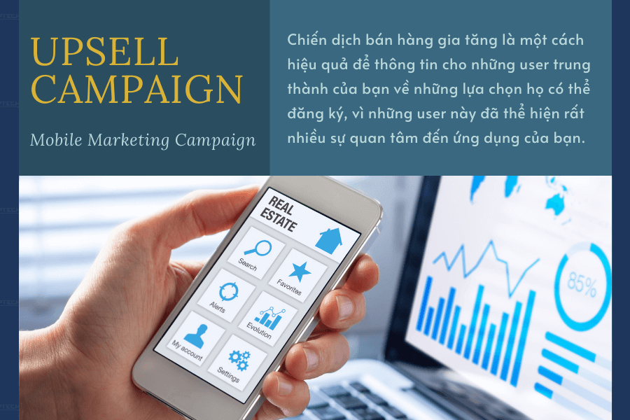 Chiến dịch tiếp thị: Upsell campaign