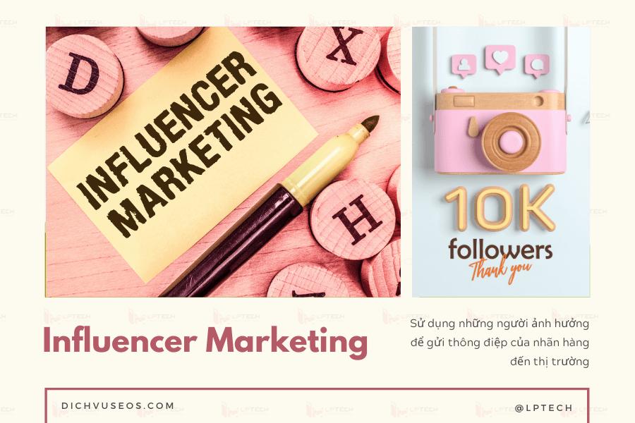Chiến dịch tiếp thị App: Influencer Marketing