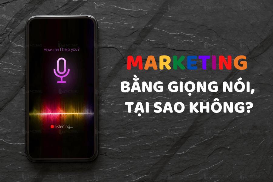 Sử dụng trợ lý giọng nói trong marketing