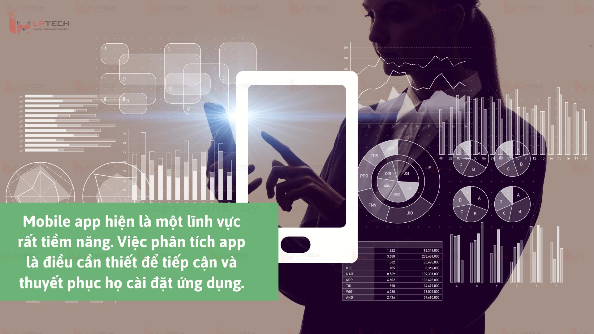 Việc phân tích hành vi khách hàng sử dụng app là điều cần thiết