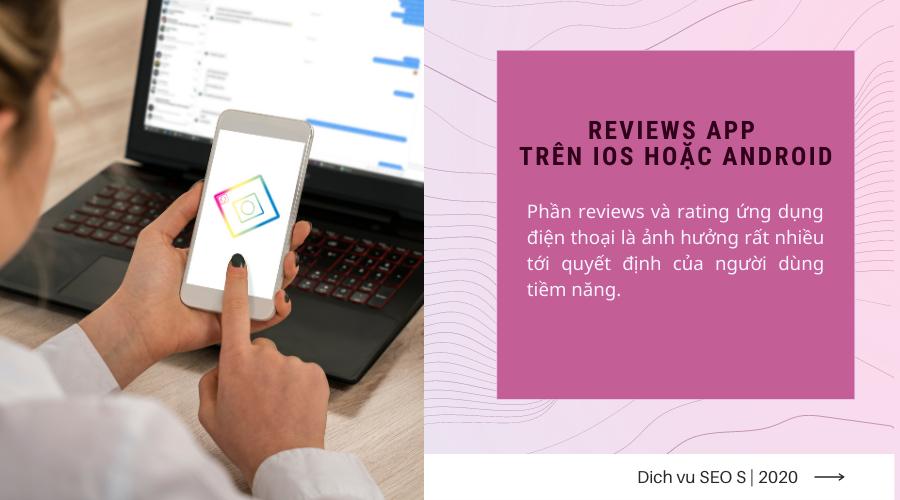 Review ứng dụng điện thoại