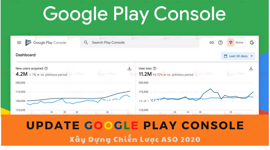 Xây Dựng Chiến Lược ASO 2020: Update Google Play Console