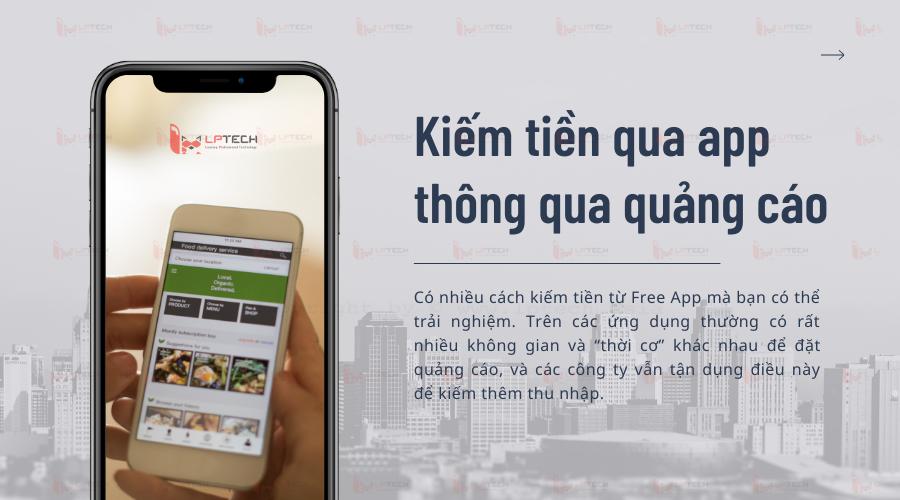 Kiếm tiềnkiếm tiền qua app thông qua quảng cáo
