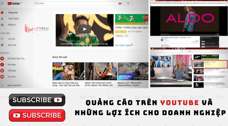 Quảng cáo trên Youtube và những lợi ích cho doanh nghiệp