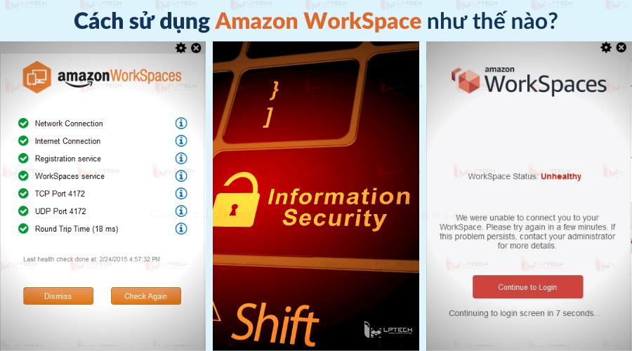 Cách sử dụng Amazon WorkSpace như thế nào?