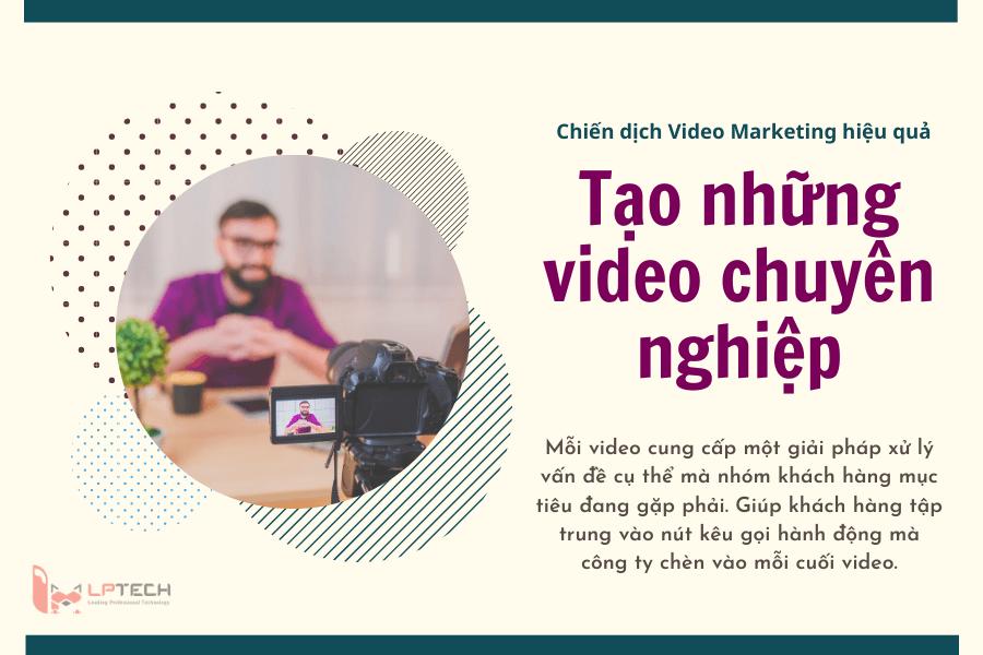 Tạo những video chuyên nghiệp