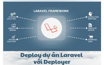 Deploy dự án Laravel với Deployer