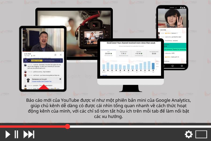 Hỗ trợ tăng doanh số khi livestream trên Youtube