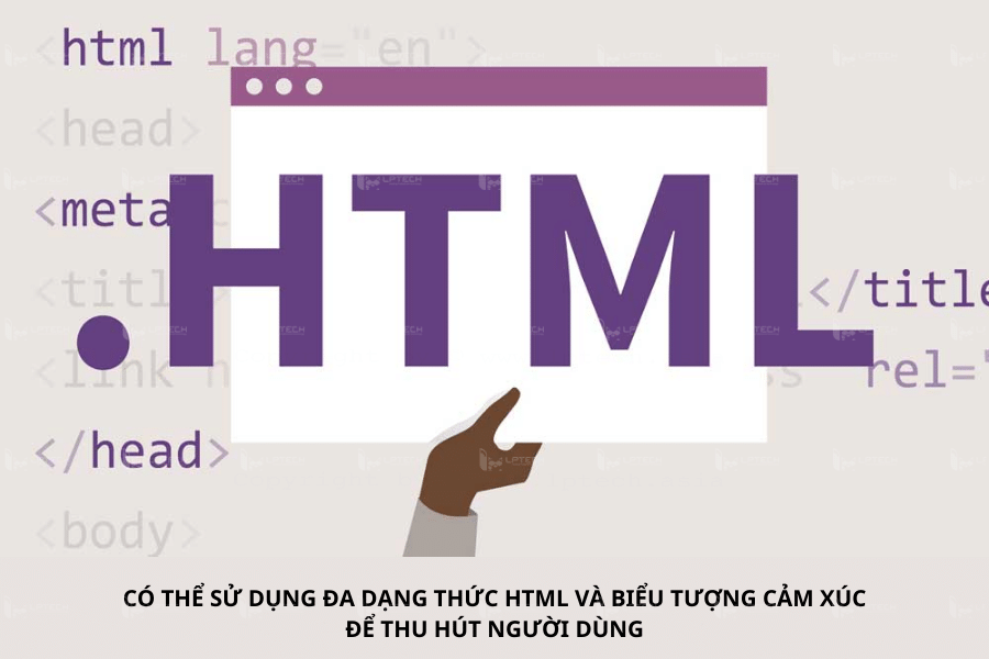 Sử Dụng Định Dạng HTML Tăng Cường ASO