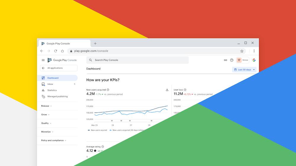 Bản cập nhật Google Play Console 2020 có nhiều tính năng mới rất đáng trải nghiệm