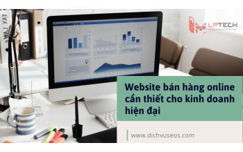 Website bán hàng online cần thiết cho kinh doanh hiện đại