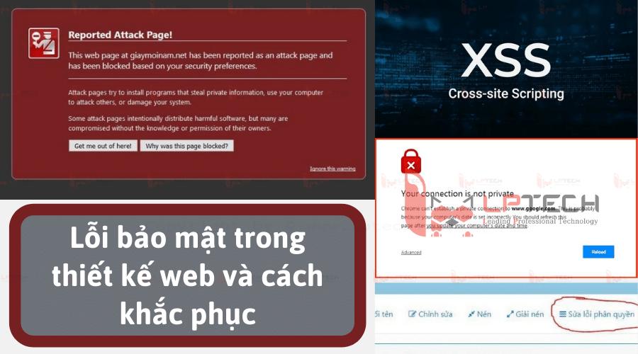 Website Wordpress - Lỗi bảo mật trong thiết kế web và cách khắc phục