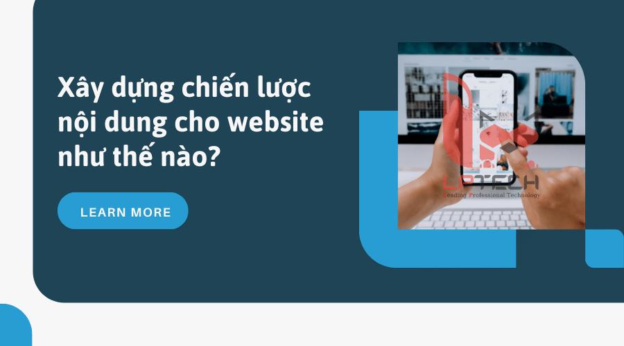 Xây dựng chiến lược nội dung cho website như thế nào?