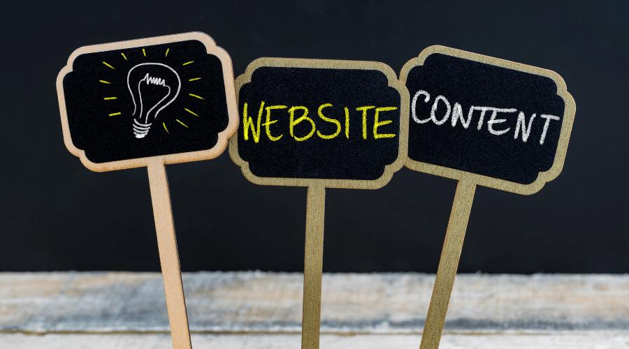 Content cho website