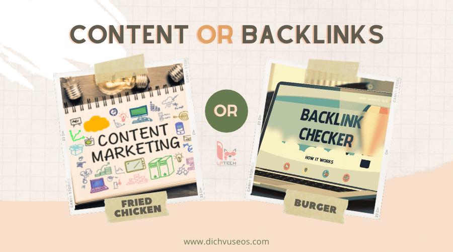 Hỏi đáp kỹ thuật SEO: Content và Backlink cái nào quan trọng hơn?